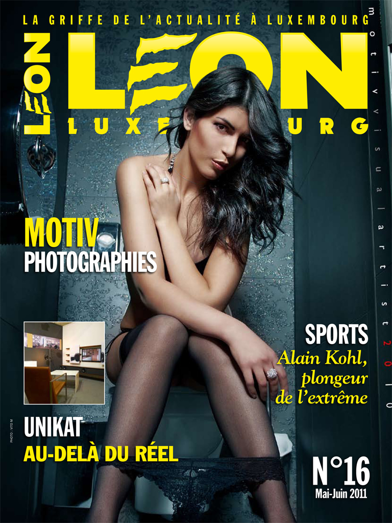Leaon MAgazine Cover
