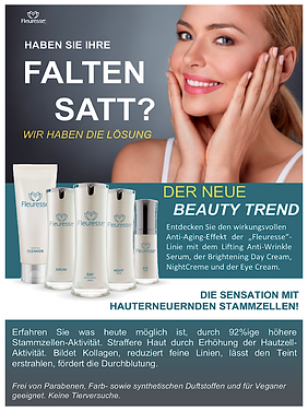 Fleuresse, Night-Creme, Nachpflege, Anti-Aging, Anti-Falten, Beauty, Trend
