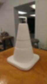 David McDougall, Sasha Phipps, nuit blanch, university of ottawa, cones, rite of way,