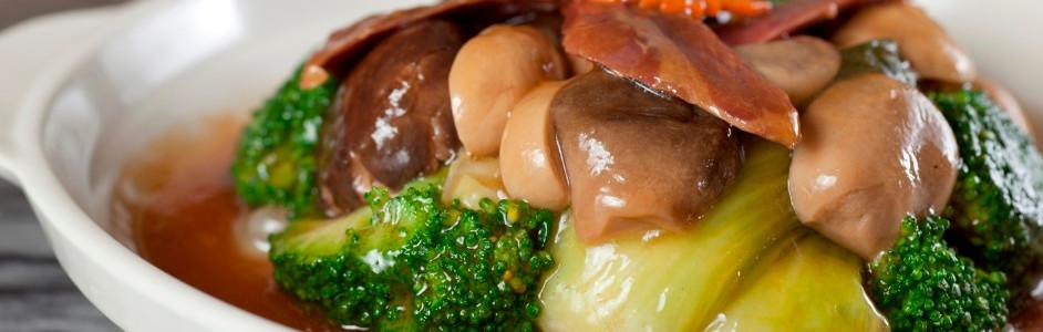 金華四寶蔬 Stewed Assorted Vegetable With Chinese Ham 例  HK$96