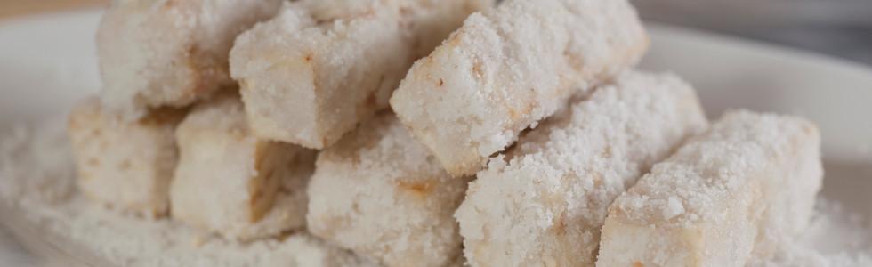 反沙香芋 Deep Fried Taro With Sugar 例(8件)  Regular (8 Pcs)  HK$120 每加 2 件加 Add. 2 Pcs HK$30