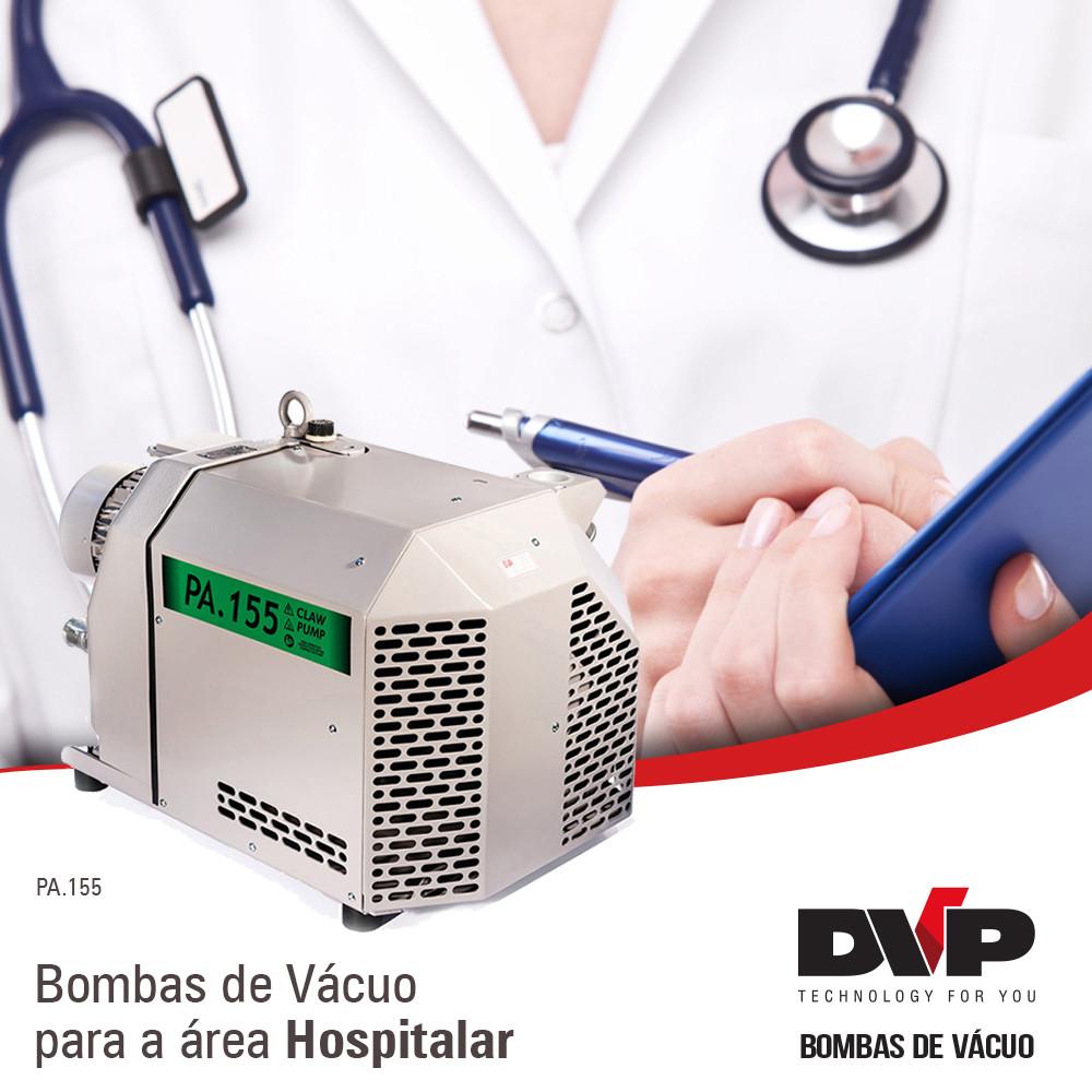 Bomba de Vácuo Hospitalar