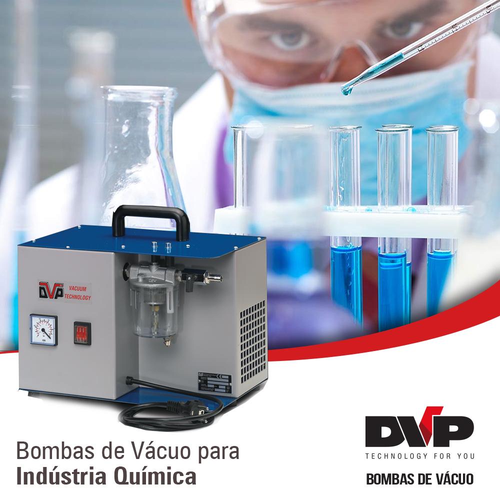 bomba de vácuo indústria química