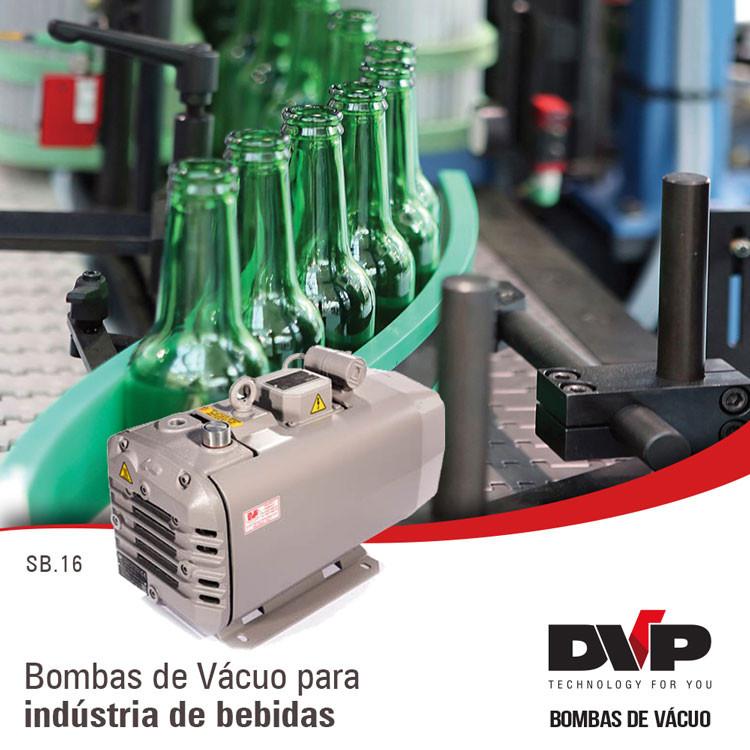 bomba de vácuo bebidas