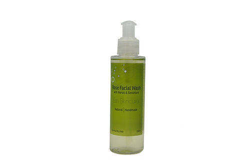 Rose Facial Wash with Neroli & Geranium