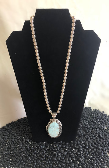 Dry Creek Turquoise Pendent Necklace