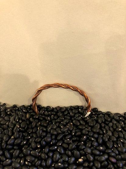 Twisted Copper Cuff Bracelet