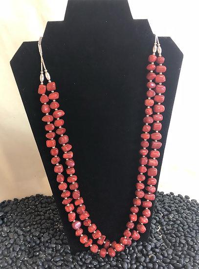 Coral Pueblo Necklace