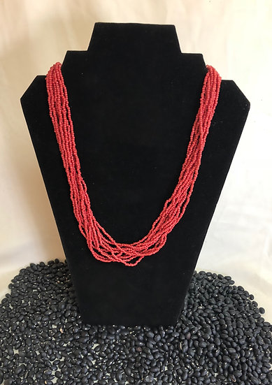 Coral Strand Necklace