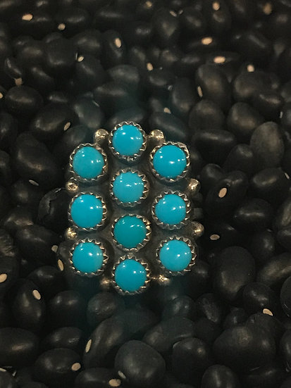 Navajo Turquoise & Silver Ring