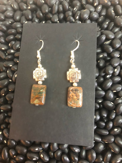 Natural Jasper Earrings