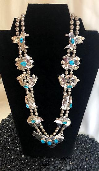Navajo Squash Necklace
