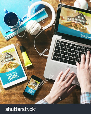 stock-photo-real-estate-website-mock-up-