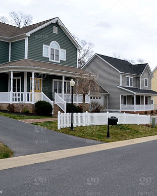 new-homes-houses-on-a-quiet-street-in-a-