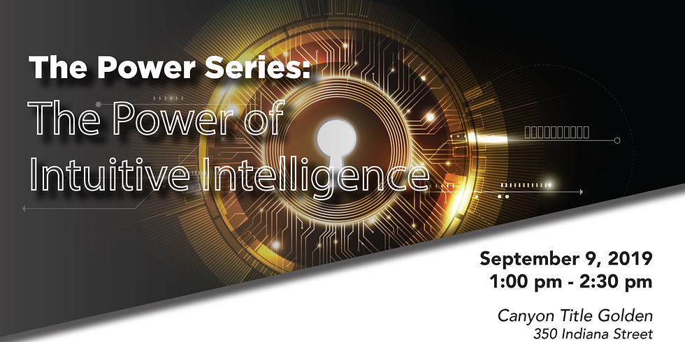 The Power Series, The Power of Intuitive Intelligence