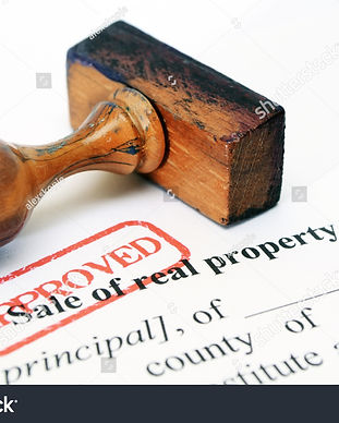 stock-photo-sale-of-real-property-form-1