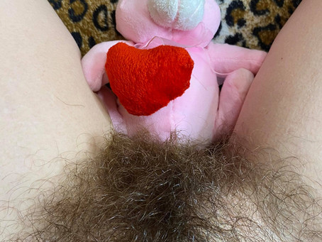 A little hairy closeup for Easter !:P #hairypussy