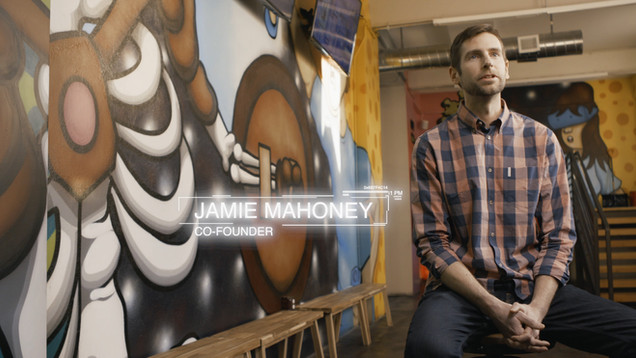 Jamie Mahoney, Co-Founder of FlipSwitch VR located in the crossroads district of Kansas City, MO.