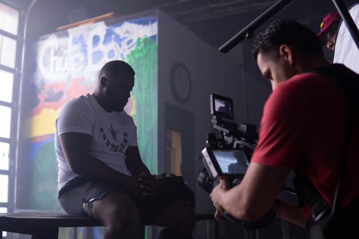 Kansas City based cinematographer Adrian B. Herrera BTS