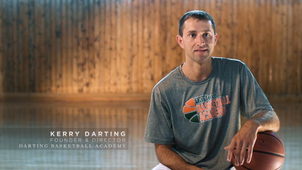 Kerry Darting, Founder of Darting Basketball Academy.
