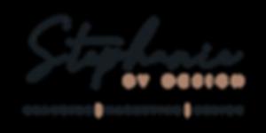 Stephanie_by_Design__Main Logo_Black_Tra
