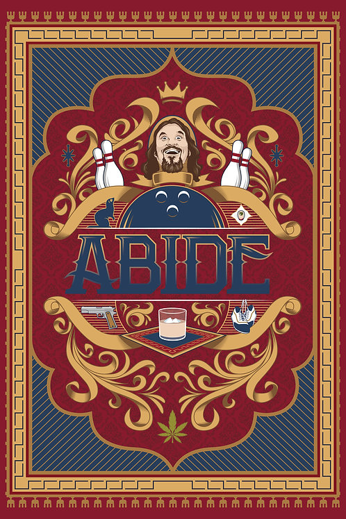 ABIDE Poster [13in x 19in]