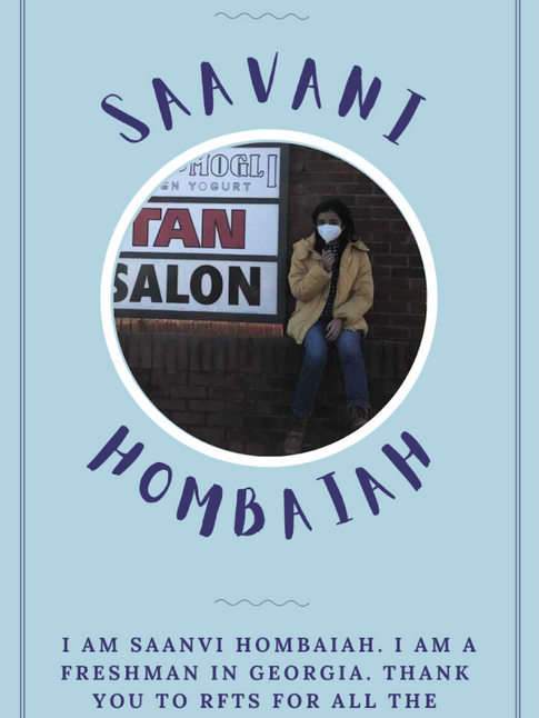 June 2021 - Saavani Hombaiah