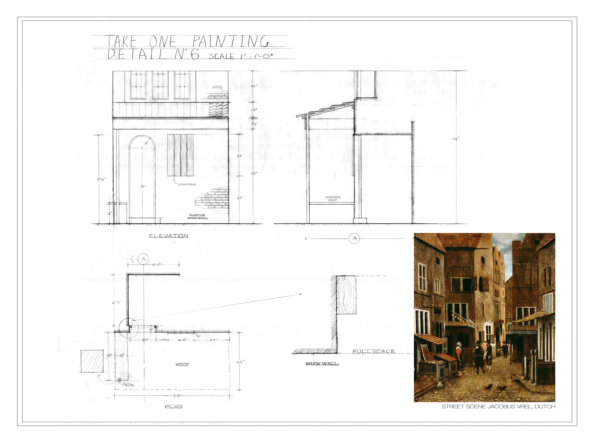 take one painting technical drawings-Fwi