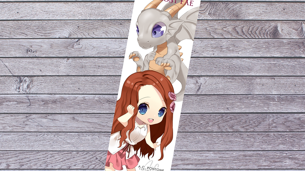 The Lost Fae - Printable Bookmark #2