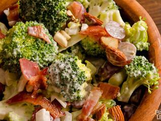 Bacon, Grape and Broccoli Salad