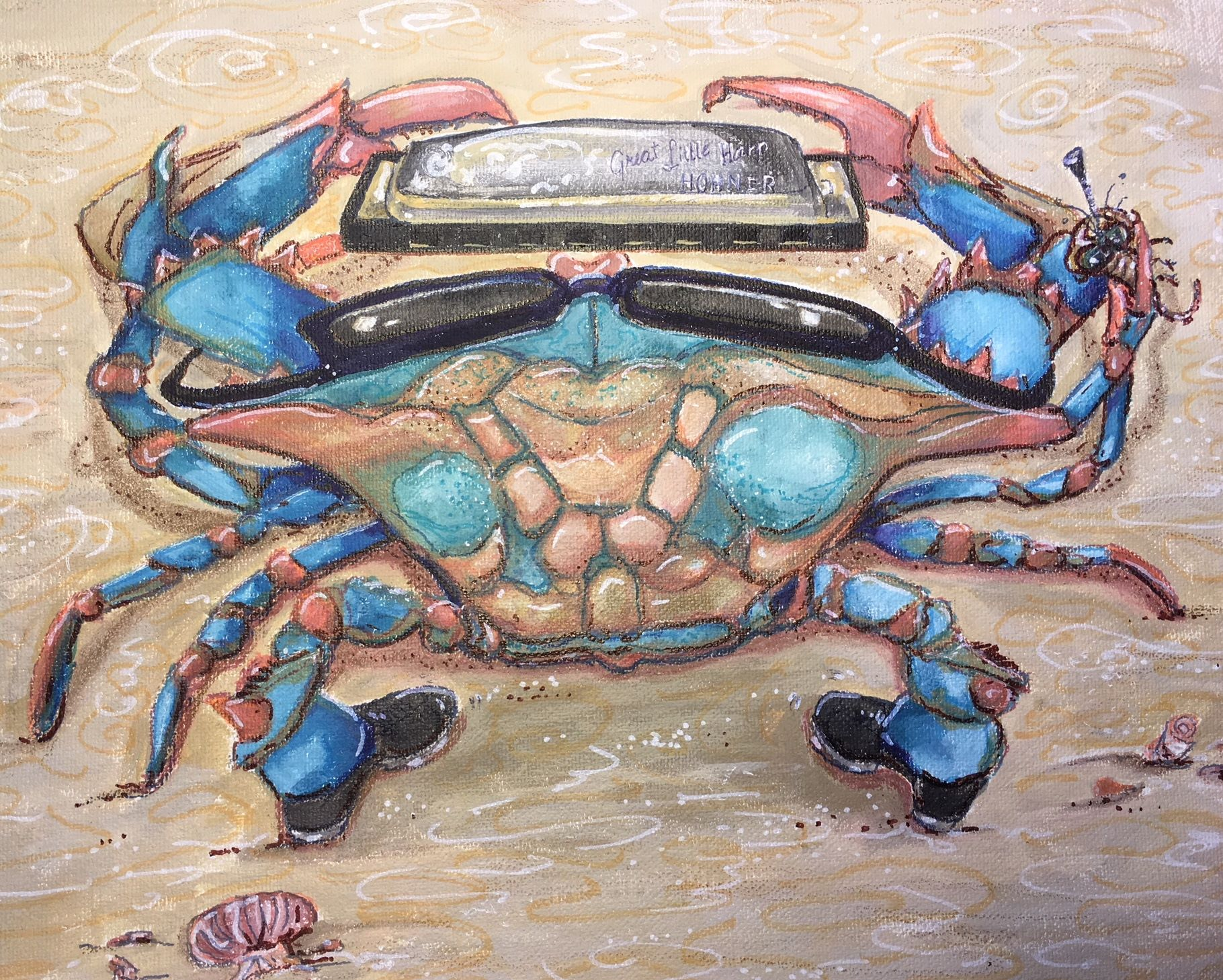 Blues Crab