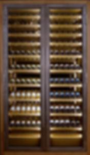 Vinoloq V-line Luxe collectie wijnklimaatkasten, modulaire wijnklimaatkastenmet geweldige uitstraling Collection of luxurywine cabinetsthatlook amazing