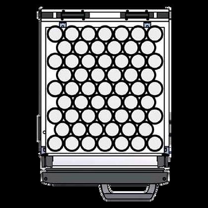 Flexbar 41 segmenten, per plateau: 59 x 20 cl