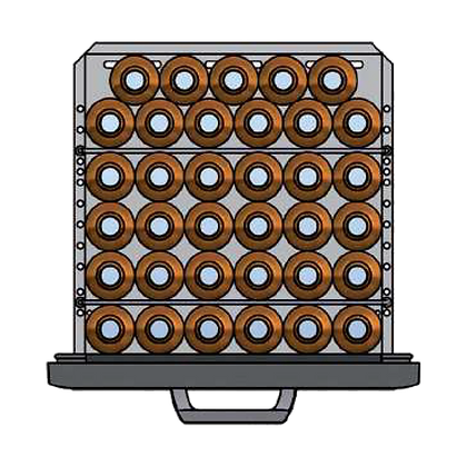Flexbar 54 segmenten, per lade: 35 x 50 cl