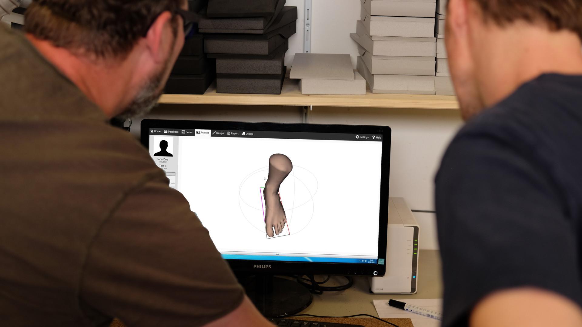 3D-scanner Voetzorg