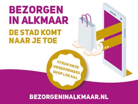 Bezorgen in Alkmaar!
