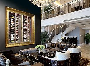 Vinoloq X-line wijnklimaatkasten Luxe wandkasten met ingebouwde koeling    Luxury wall cabinets with built-in cooling