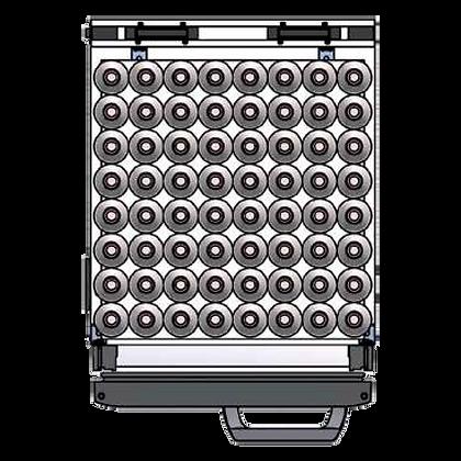 Flexbar 41 segmenten, per plateau: 64 x 20 cl