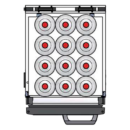 Flexbar 41 segmenten, per plateau: 12 x 200 cl