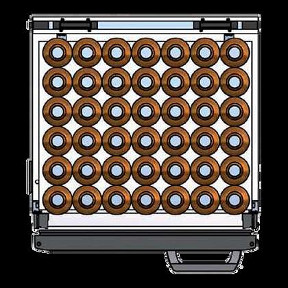 Flexbar 54 segmenten, per plateau: 42 x 50 cl