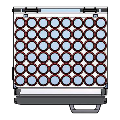 Flexbar 54 segmenten, per plateau: 48 x 33 cl