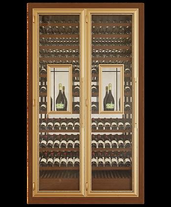 Vinoloq tweedeurskast