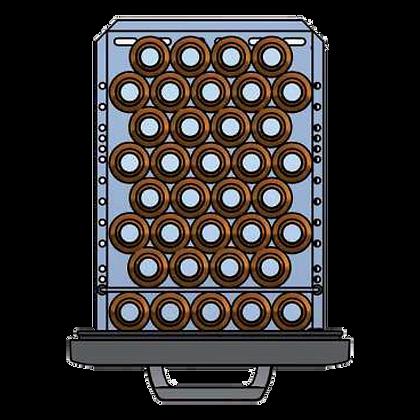 Flexbar 41 segmenten, per lade: 36 x 25 cl