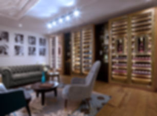 Vinoloq V-line Luxe collectie wijnklimaatkasten, modulaire wijnklimaatkasten met geweldige uitstraling Collection of luxury wine cabinets that look amazing