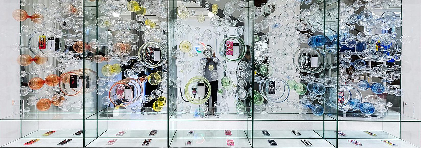 Google Beemer Glas