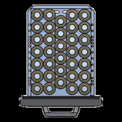 Flexbar 41 segmenten, per lade: 34 x 30 cl