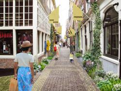Vergroening binnenstad Alkmaar