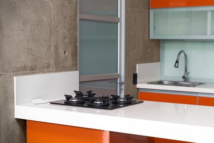 Beemerglas-keuken