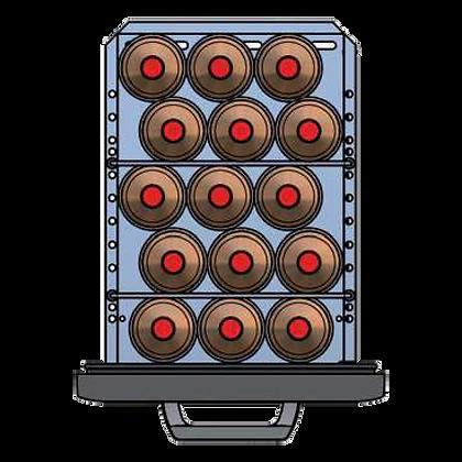 Flexbar 41 segmenten, per lade: 15 x 100/150 cl