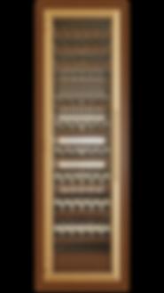 Vinoloq V-line wijnklimaatkast ONE DOOR CABINET    1 and 2 temperature zones  without magnum compartment  w 860 x h 2780 x d 685 mm